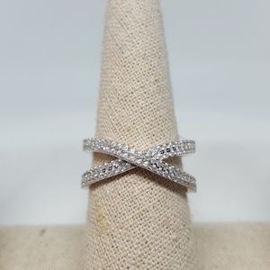Jewelry - Sterling Silver X Ring